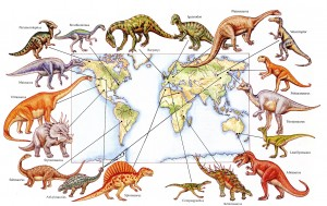 Dinosaurs Around the World - small