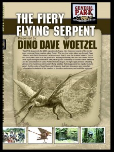 The Fiery Flying Serpent DVD Graphic