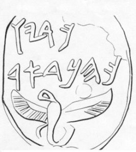 Priest of Dor Pterosaur Seal