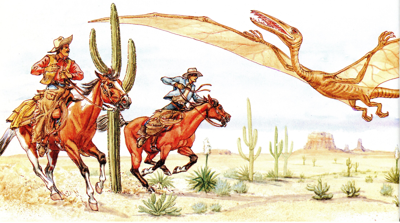 Tombstone Epitaph Cowboys & Pterosaur