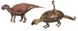 Gryposaurus and Dogon Bronze