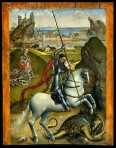 Rogier van der Weyden's St George 1432-1435