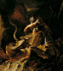Salvator Rosa Jason Painting
