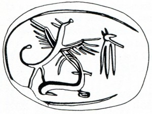 Scarab with Winged Serpent Giveon p. 71b