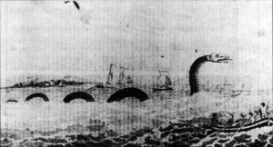 Sea Serpent Cape Ann 1639