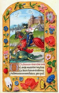 St. George Killing the Dragon - Fitzwilliam Museum