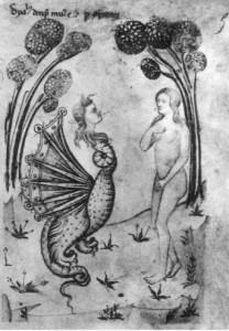 Temptation of Adam and Eve - Speculum