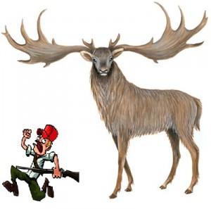 Giant Fallow Deer