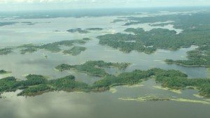 Lake Murray from Air